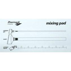 Keverőblokk  Zhermack 11x19,5cm Mixing Pad  U112270
