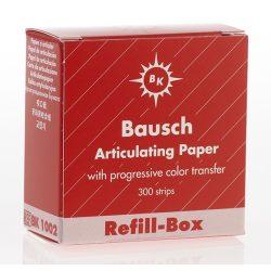 BK  1002 art.papír 200mic utánt. piros,300 csík