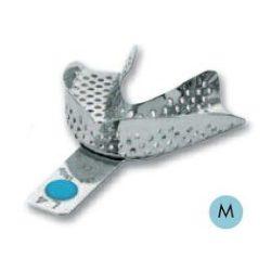 ASA 2801-L4 lenyomatkanál M alsó fém,perf.,Codicolor,világoskék
