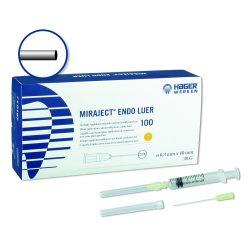 Endo öblitö 30G 0,3x40mm Luer H&W 254-222,100db,Miraject